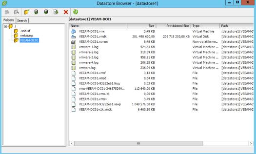 26 - VMDK size pre-deletion of files