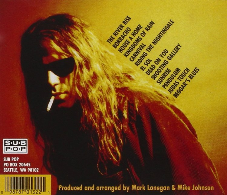 Mark Lanegan of the Screaming Trees covered Leadbelly with Nirvana;s Kurt Cobain on aborted studio project