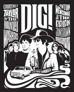 Brian Jonestown Massacre and the Dandy Warhols in Dig (2004)