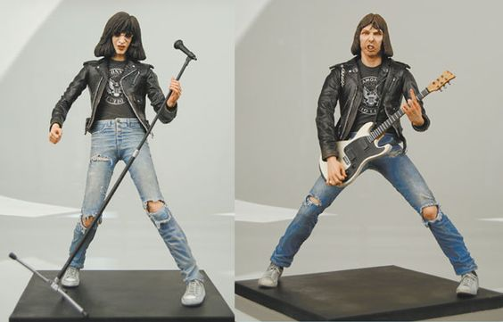 Weird Rock Star Action Figures