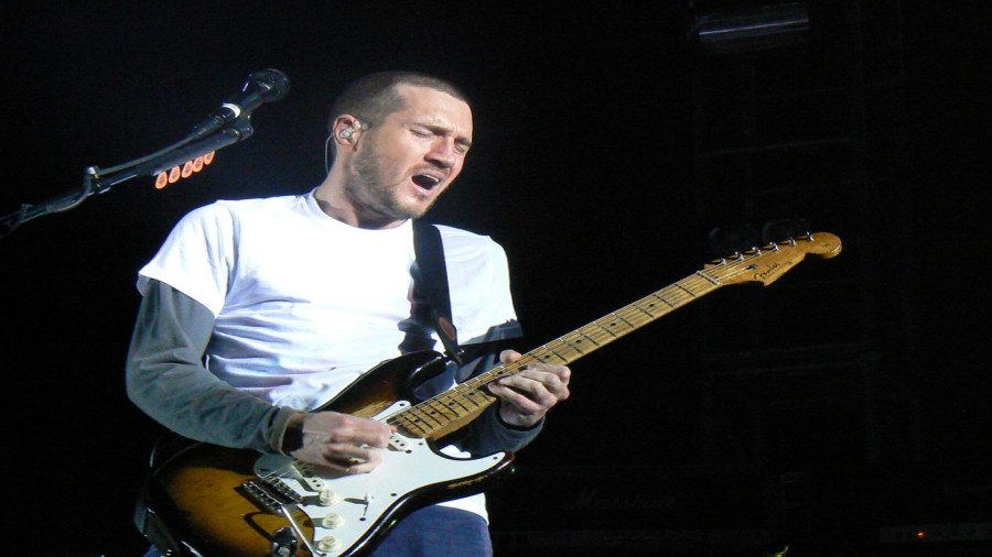 Does John Frusciante own a guitar any more? Does he even need to?