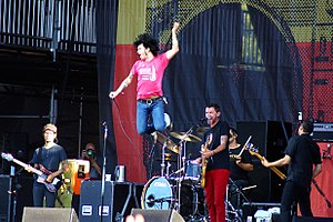 At the Drive-in Lollapalooza reunion