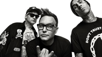 blink 182 return with new pop single Blame it on my youth
