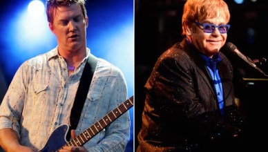 Elton John Queens of the Stone Age - alternative rock