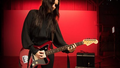 Chelsea Wolfe - indie rock Source: guitarsenmoreaudio.com