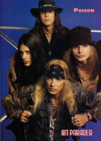 """Poison with guitarist Ritchie Kotzen in their """"mature era"""""""
