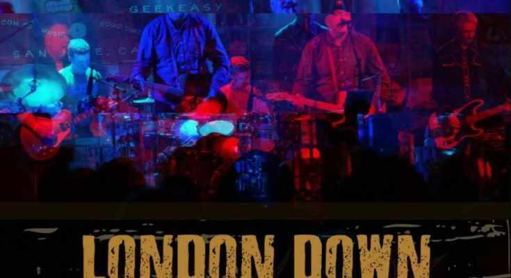 London Down - Danang (Live) classic rock indie new music 2020