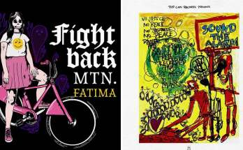 Glitter gutter rock: Fight Back Mountain and ill peach reviewed