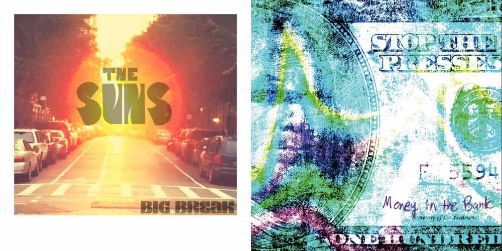 New releases by The Suns and Stop the Presses