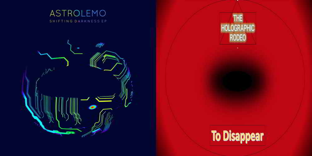 Brand new singles from The Holographic Rodeo and Astrolemo