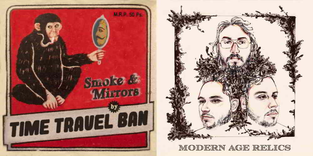 Time Travel Ban and Modern Age Relics release new singles