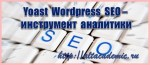 Yoast WordPress SEO инструмент аналитики
