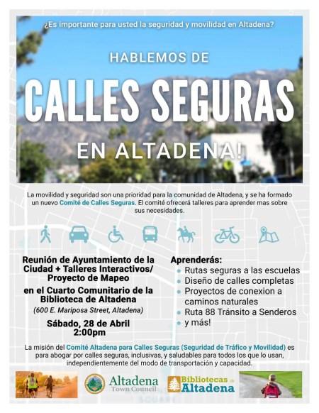 Safe Streets - Spanish