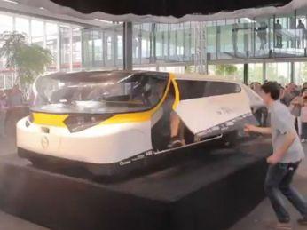 PortadaCiencia y tecnologíaPresentan a Stella, un auto solar para toda la familia en Holanda