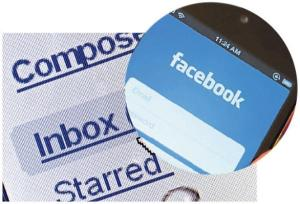 email + Facebook