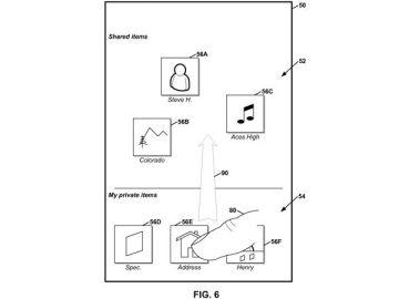 Google patenta un método para compartir archivos con dispositivos cercanos arrastrando y soltando