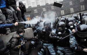 Manifestaciones Ucrania