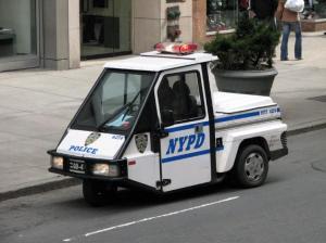 New York City Police Vehicle