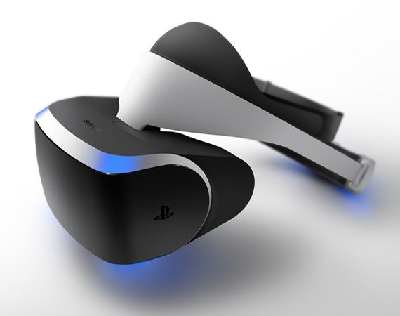 sony project morpheus virtual reality headset for playstation 4