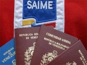 saime-pasaportes