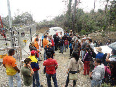 Inauguran radiobase Movilnet en Macho Capaz-Mérida