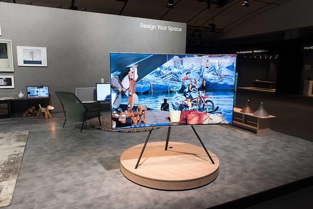 Samsung muestra prototipo de televisor QD-OLED a puerta cerrada