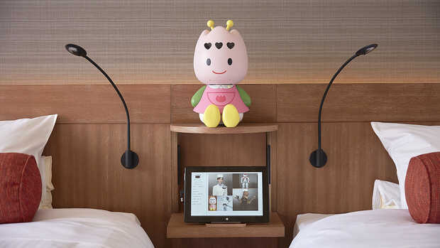Robot hotel Henn-na Japón