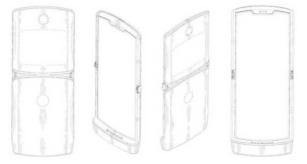 Motorola smartphone plegable tipoRAZR