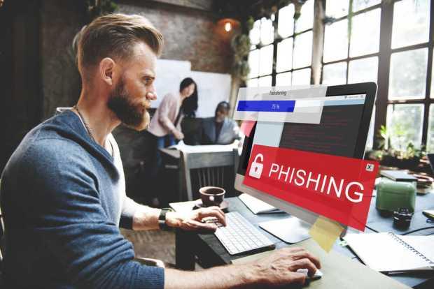 Computadora Phishing