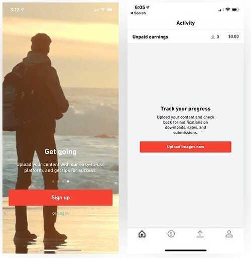 Shutterstock quiere que comiences a ganar dinero con tus fotos y videos del móvil