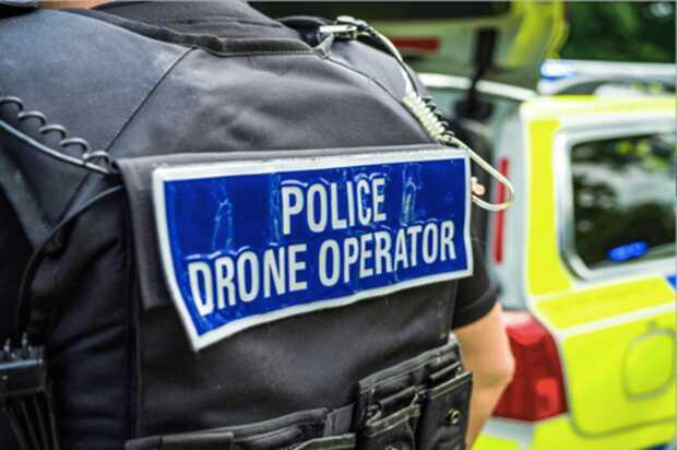 Operaciones policiales más efectivas usando drones