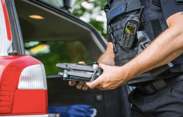 Drones policía para combatir el crimen