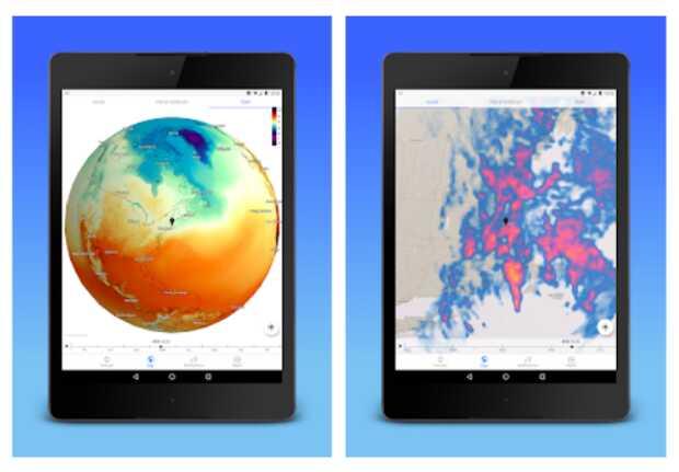 Dark Sky App: previsión del clima gratis con interfaz limpia y sin publicidad