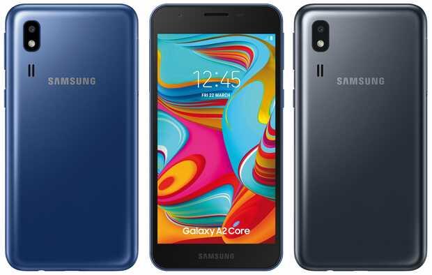 Filtran móvil más barato de Samsung llamado Galaxy A2 Core
