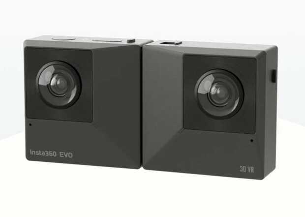 Cámara convertible captura en panorámicas inmersivas de 360 grados y también en 3D