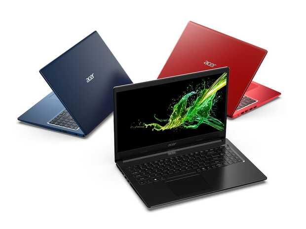 Acer Aspire 3 Nueva serie de portátiles Aspire con precios que van desde los 350 dólares