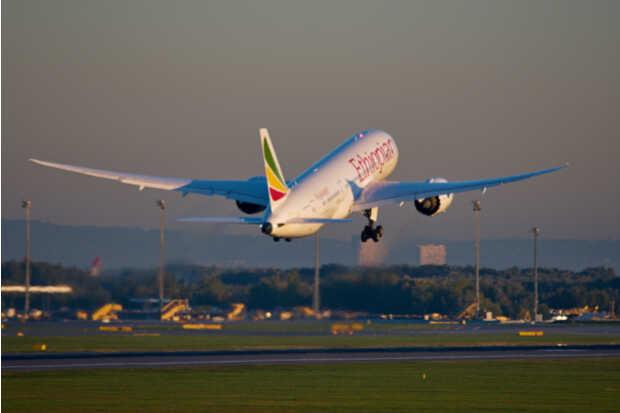 Avión Ethiopian Airlines