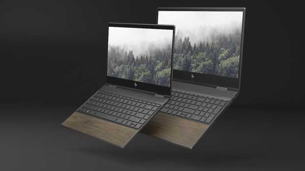 HP ENVY madera Primeras computadoras portátiles hechas de madera