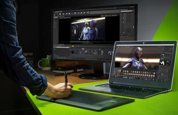 Nueva plataforma NVIDIA Studio acelera la creatividad