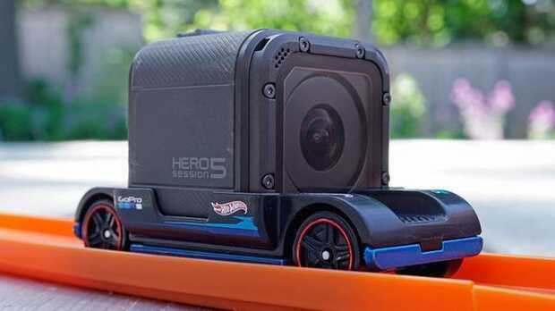 Este es el soporte GoPro más barato del mercado: Hot Wheels Zoom In