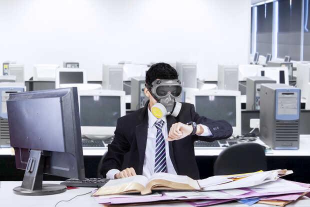 Así de importante es el aire limpio en las oficinas