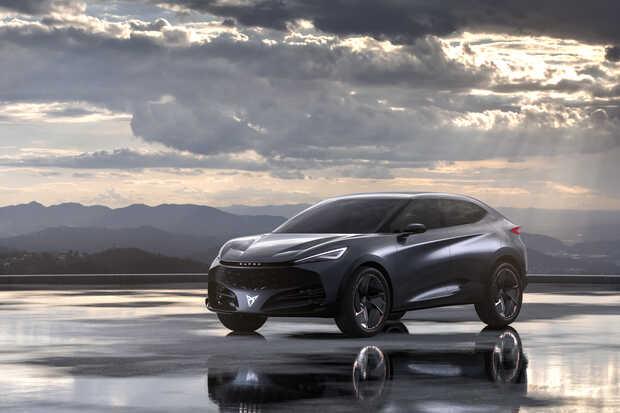 Prototipo SUV deportivo eléctrico CUPRA Tavascan