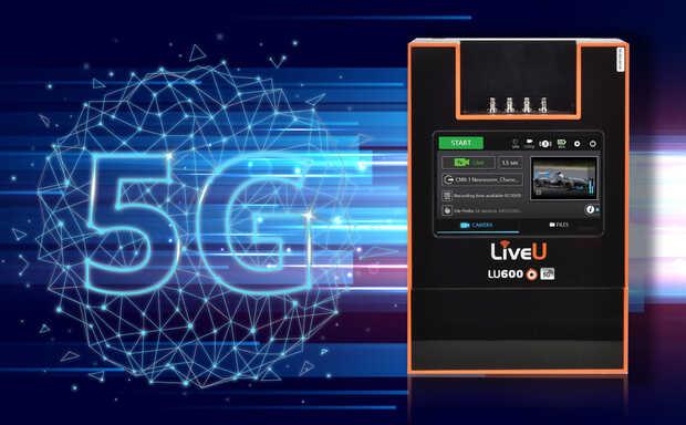 LiveU presenta primera unidad de transmisión de video en vivo con 5G integrado