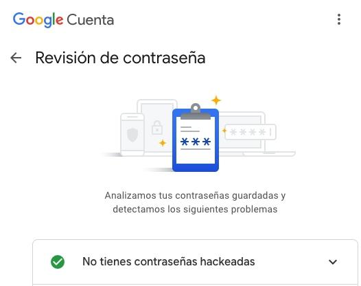 Administrador de contraseñas de Google ahora verifica si alguna de tus cuentas fue violada