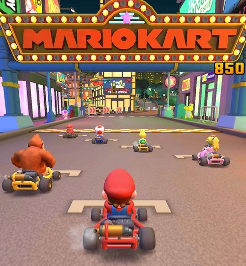 Disponible en Mario Kart Tour el modo multijugador