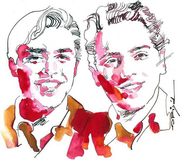 Larry Page y Sergey Brin fundadores de Google