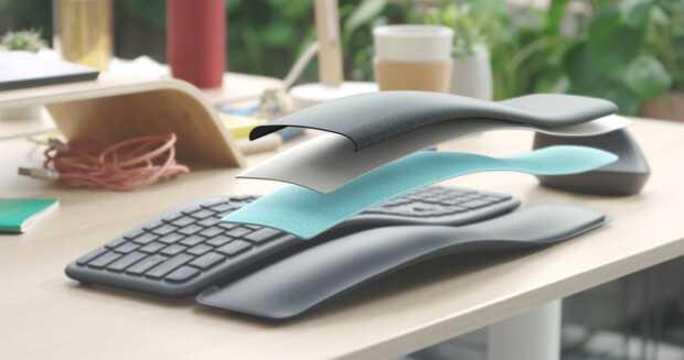 Logitech Ergo K860: nuevo teclado curvo dividido cómodo y ergonómico
