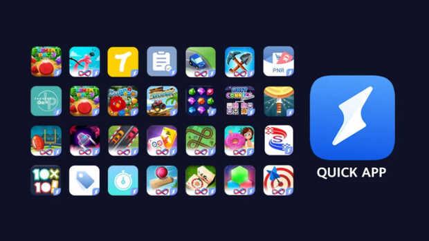 Quick Apps deHuawei es la alternativa china a las Instant Apps de Google