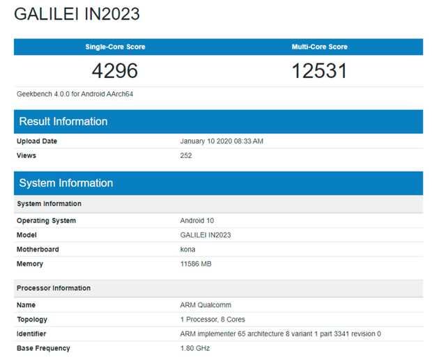 OnePlus 8 Pro con Snapdragon 865 y 12 GB de RAM