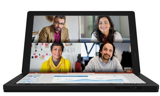 Lenovo ThinkPad X1 Fold: primera PC plegable con pantalla OLED #CES2020